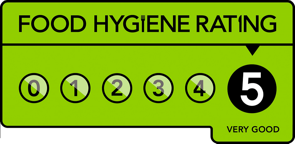 The Khayber Glengormley Food Hygiene Rating - 5/5
